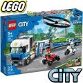 2020 Lego City Полицейски превоз с хеликоптер 60244