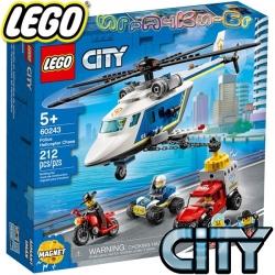 2020 Lego City Полицейско преследване с хеликоптер 60243