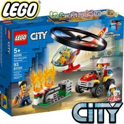 2020 Lego City Реакция с пожарен хеликоптер 60248
