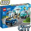 2020 Lego City Сервизна станция 60257