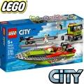 2020 Lego City Транспонтьор на състезателни лодки 60254