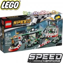 Lego Speed Champions Мерцедес-AMG Petronas Formula One Team 75883