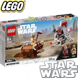 2020 Lego Star Wars T-16 Skyhopper срещу Bantha Микробойци 75265