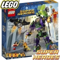 2018 Lego DC Comics Super Heroes Lex Luthor Mech Takedown