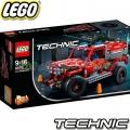2018 Lego Technic Джип за бързо реагиране 42075