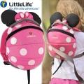 Disney Раничка за детска градина Мини Маус 2л. Pink Dots LittleLife
