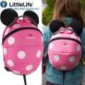Disney Раничка за детска градина Мини Маус 4л. Pink Dots LittleLife