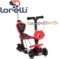 Lorelli Тротинетка-скутер 3в1 Smart Plus Red Fire 10390030013