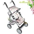 Moni Лятна количка за кукли Flower Garden 9351