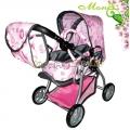 Moni Комбинирана количка за кукли Kitty 9672