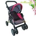 Moni Лятна количка за кукли Pinky Dots 9352