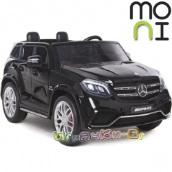 Moni Акумулаторен джип GLS63 AMG металик HL228 Black