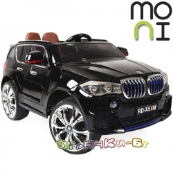 Moni Акумулаторен джип BMW M5X металик RD500 Black