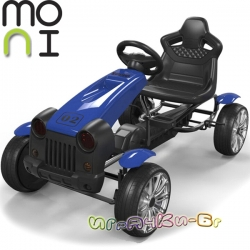 Moni Картинг количка с педали Matador Blue