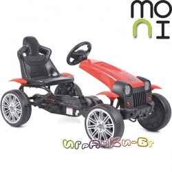 Moni Картинг количка с педали Matador Red