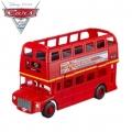 Cars 2 Двуетажен автобус-автовоз за 12 колички