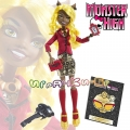 Monster High® Frights Camera Action!™ Клаудия Уолф с дневник BLX07/BLX11