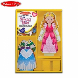 Магнитна кукла за преобличане Принцеса Елиза Melissa Doug 3553