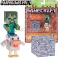 Minecraft Мини фигурка Chiken Jokey 16485
