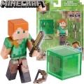 Minecraft Мини фигурка Alex and Slime 16490