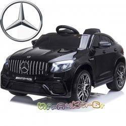 Mercedes Акумулаторен джип GLC 63 S AMG QLS-5688 черeн металик