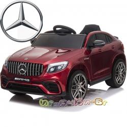 Mercedes Акумулаторен джип GLC 63 S AMG QLS-5688 червен металик
