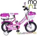 "Moni Детски велосипед 12"" Pink 1282"