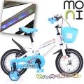 """Moni Детски велосипед със светеща рамка 12"""" Blue 1290"""