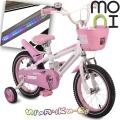 """Moni Детски велосипед със светеща рамка 14"""" Pink 1490"""
