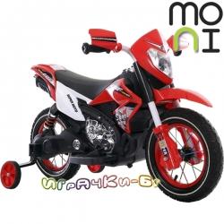 Moni Акумулаторен мотор Super Moto FB-6186 Red