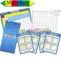 Morphun Събиране на числата до 20,дъска с 142 части и 8 страници 47769