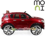 Moni Акумулаторен джип BMW M5X металик RD500 Red