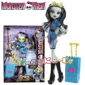 Monster High Кукла Франки Щайн с куфар Scaris The City of Frights Y7671