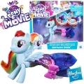 *My Little Pony The Movie Мини кукла пони русалка Rainbow Dash C0681