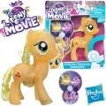 "*My Little Pony The Movie Фигурка пони ""Дай пет!"" Applejack C0720"