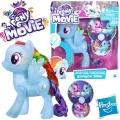 "*My Little Pony The Movie Фигурка пони ""Дай пет!"" Rainbow Dash C0720"