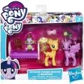 My Little Pony Игрален комплект Princess Twilight Sparkle & Applejack B9160