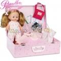 Petitcollin Кукла Calinette в куфарче с аксесоари