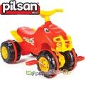 Pilsan ATV с педали в червено 07810