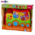PlayGo - 2102 Музикално влакче с животинки