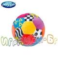 Playgro Мека цветна футболна топка