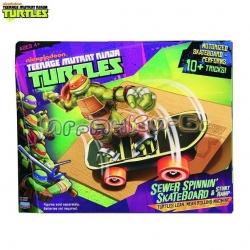 TMNT Playmates Скейтборд с рампа 47285