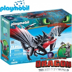 2019 Playmobil Dragons™ Deathgripper with Grimmel 70039