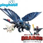 2019 Playmobil Dragons™ Хълцук и Беззъб 70037