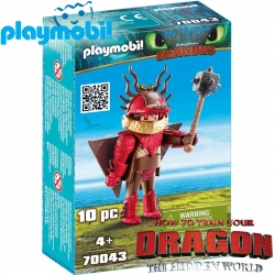 2019 Playmobil Dragons™ Snotlout in flight suit 70043
