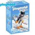 2018 Playmobil Family Fun Скиор 9288