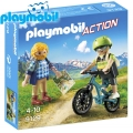 2018 Playmobil Action Велосипедист и планинар 9129