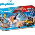 Playmobil City Action Кран за разрушаване 70442