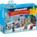 Playmobil Коледен календар Полицейска акция 9007