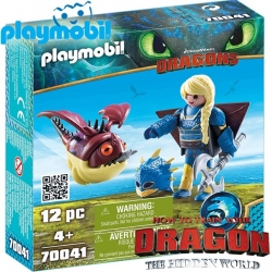 2019 Playmobil Dragons™ Астрид и Хобгоблер 70041